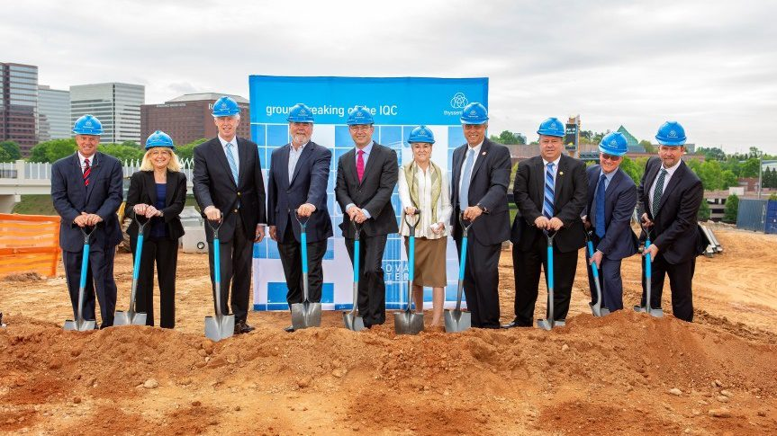 thyssenkrupp breaks ground at new Innovation and